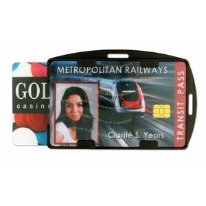 Rigid ID Card Holder