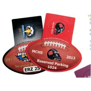 CombiPass Football Shape with Key Card