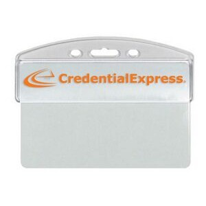 Hard Plastic Half Card Holder